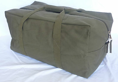 HD CANVAS DUFFLE STYLE G.I. TRAVEL BAG 13.5 ounce CANVAS - 3 SIZES