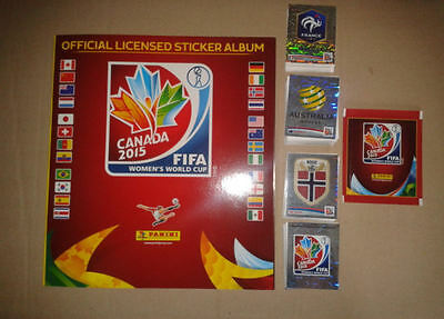 PANINI - FIFA Women's World Cup Canada 2015 - Album Vide + Set Complet