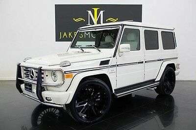 2010 Mercedes-Benz G-Class G55 AMG (1-OWNER!...ONLY 16K MILES!) 2010 Mercedes-Benz G55 AMG, ONLY 16K MILES! WHITE ON WHITE, 1-OWNER, PRISTINE!