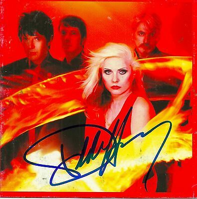Debbie Harry signed The Curse of Blondie cd