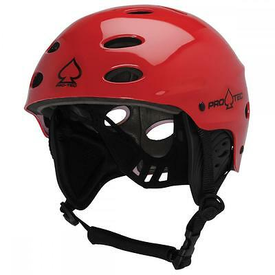ProTec Ace Watersports Helmet RESCUE Edition W/Ear pads RED XS | S | M | L | XL