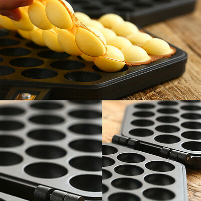 New Durable Bring QQ Egg Bread Mold For Waffle Maker Machine C37LJ Non Stick Pan