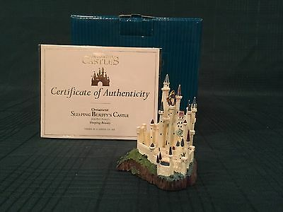 WDCC Enchanted Castles Ornament Sleeping Beauty - New in Box
