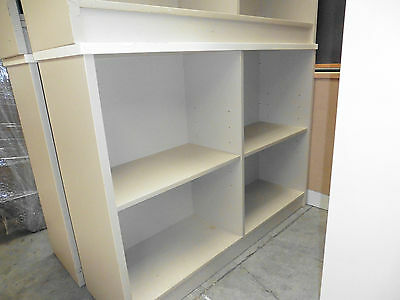 Office Bookcase Sand Solid Timber Brisbane