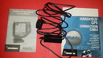 Humminbird Matrix Handheld GPS Connection NMEA Cable  (see pictures pleaase)