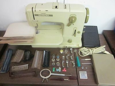 Bernina Heavy Duty  Sewing Machine Denim Vinyl Canvas Upholstery Sail