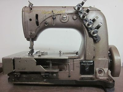 UNION SPECIAL 53400K 53400 PICOETTA 3-step Zigzag ZIG ZAG Sewing Machine