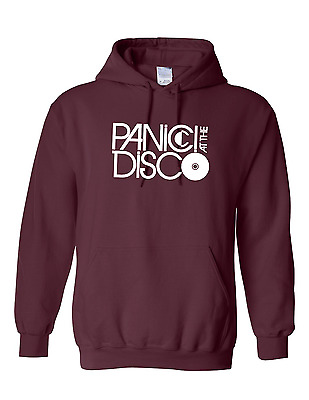 "PANIC! AT THE DISCO Inspired Rock Band ""LOGO"" Unisex Hoodies Jumper Hooded Top"