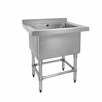 Sink, Single Large Pot, Stainless Steel, 770x600x900mm, Commercial Quality