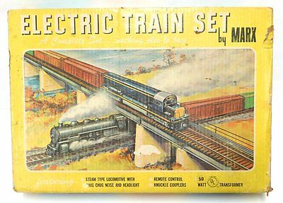 Neat Vintage Marx Electric Train Set #4310 In Original Box