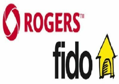 FIDO OR ROGERS - APPLE iPHONE UNLOCK - ANY MODEL - SAME DAY - 1 HOUR OR LESS
