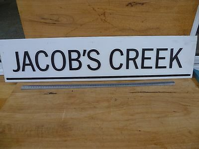 Large Size Jacobs Creek Wine Advertising Sign, Bar Sign (D488)