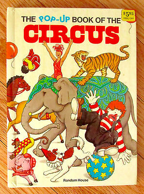 THE POP-UP BOOK OF THE CIRCUS Loretta Lustig Ib Penick Random House 1980 HB L1