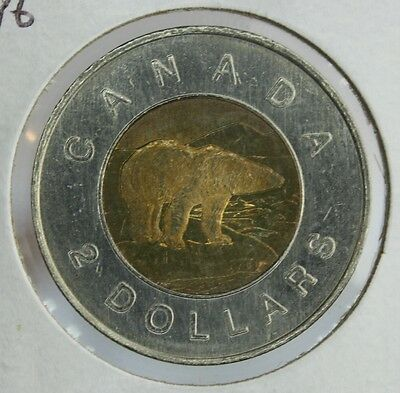 Canada 1996 $2 coin Royal Canadian Mint