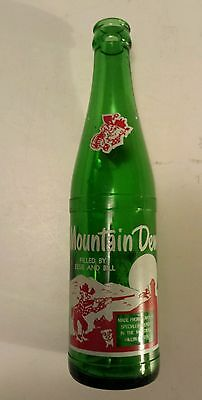 """Rare (Style#1-One Side) Canadian """"mountain Dew"""" 10 Oz """"filled By Essie & Bill"""""""