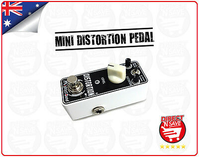 Distortion Pedal Mini Portable Guitar Effect Pedal Mighty Sound M1