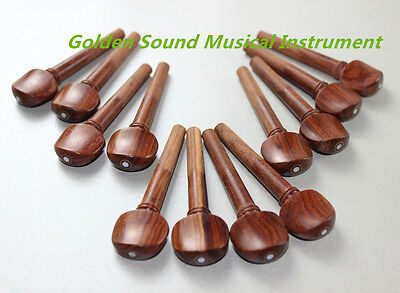 Viola  Fittings ,20pcs rosewood pegs ,beauty decoration Viola  Accessories