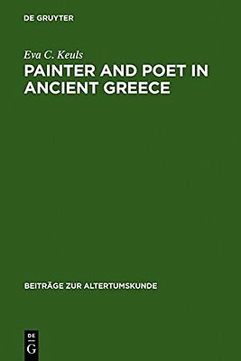 Painter and Poet in Ancient Greece: Iconography and the Literary Arts Copertina