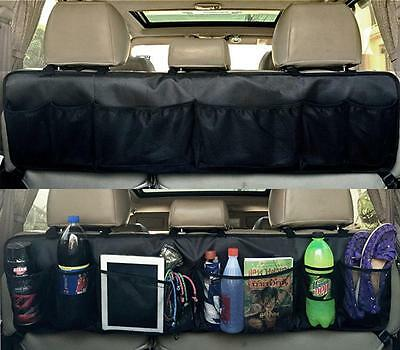 Backseat Trunk Car Travel Organizer Multipurpose Cargo Storage Auto Accessories