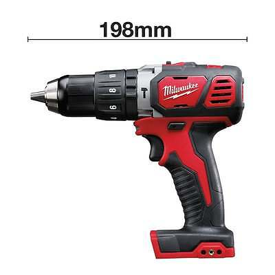 Milwaukee M18BPD-0 18v Combi Drill M18 Cordless Compact Hammer Drill Body Only