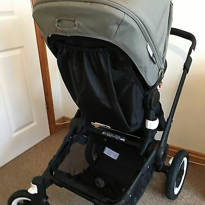 Bugaboo Buffalo raincover storage bag with/without interior pocket