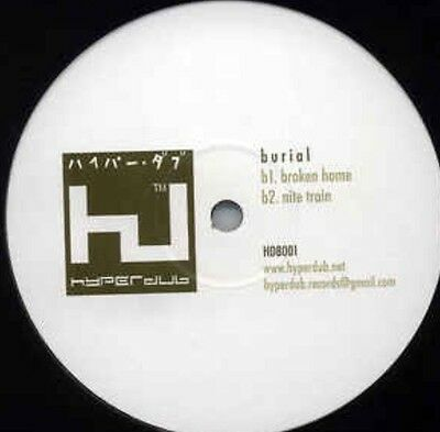 "RARE ORIGINAL 2005 BURIAL HYPERDUB001 EP 12"" VINYL South London Boroughs"
