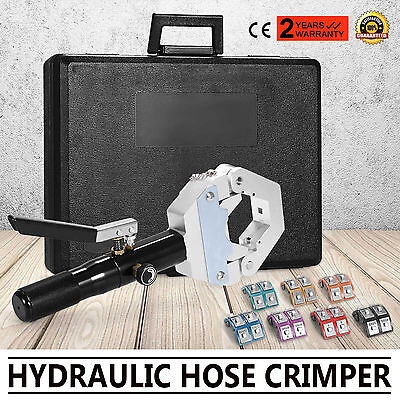 71500 Hydraulic Hose Crimper Tool Kit Air Conditioner Hose Fittings Crimping