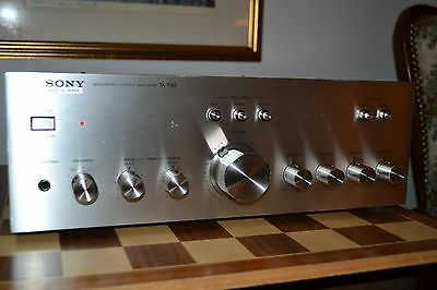 Vintage SONY TA-F3A INTEGRATED STEREO AMPLIFIER