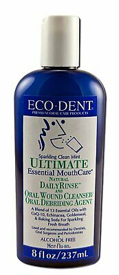Eco-Dent - Ultimate Natural Dailyrinse Clean Mint - 8 Fluid Ounce (Pack Of 6)