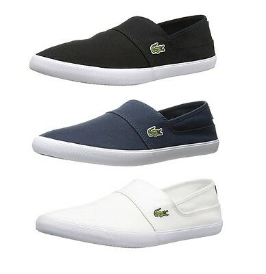 buy cheap buying cheap buying cheap LACOSTE MARICE BL2 Men's Casual Canvas Loafer Shoes Sneakers ...
