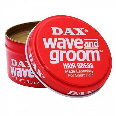 DAX HAIR WAX WAVE AND GROOM RED HAIR DRESS STYLE 99g - NEXT DAY DELIVERY