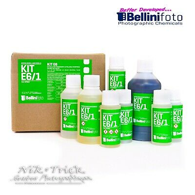 BelliniFoto's Proper Six Bath E6 Kit 1lt ~ New to the UK Top Quality Product!