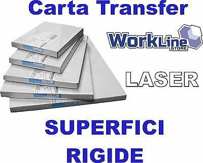 Carta Transfer LASER per Superfici Rigide 10-100 Fogli A3 - A4