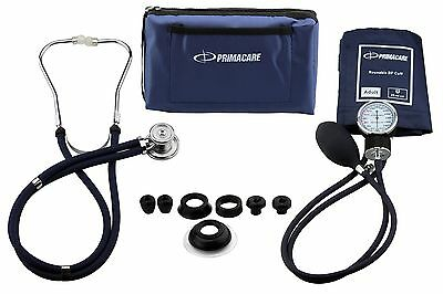 Primacare Medical Supplies DS-9181 Blue Professional Blood Pressure Kit with ...