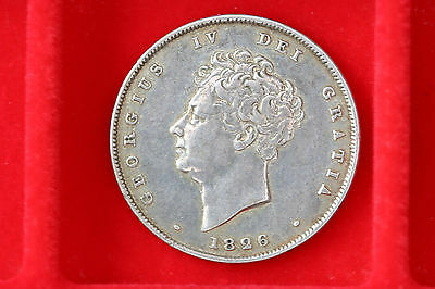 1826 Silver Shilling, Very High Grade
