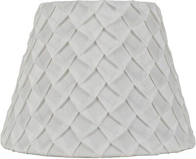 Better Homes And Gardens White Pleated Table Lamp Shade