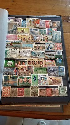 52 timbres Philippines (lot 8)