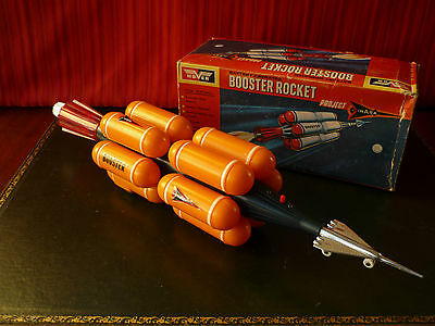 Scarce Hover Battery Space Nasa Booster Rocket Project w/ Or. Box
