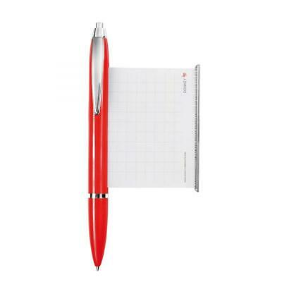 Donkey Products Cheater's Pen, Pull-Out Sheet, Cheater Ballpoint Pen, Red Silver