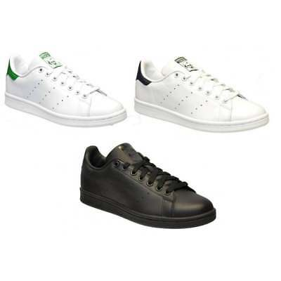 Adidas Stan Smith Leather Mens Trainers All Sizes in Various Colours