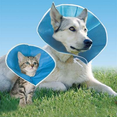 Dog Cat Vet Elizabethan Collar Cone Wound Soft Collapsible Comfortable 6 Sizes