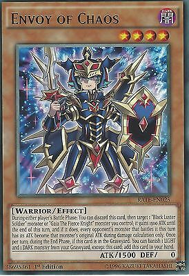 Yu-Gi-Oh Card: Envoy Of Chaos - Rare - Rate-En025 1St Edition