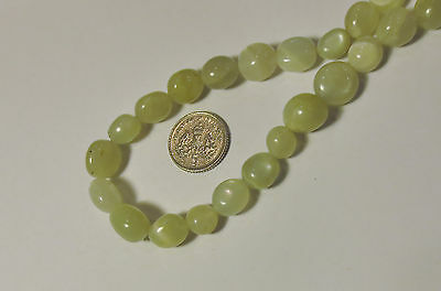 MOONSTONE GEMSTONE NUGGET BEADS APPROX 8mm - 12mm LONG AND 8mm THICK