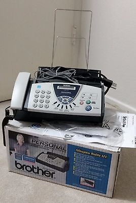 Brother Fax-575 Personal Fax Machine with Phone and Copier
