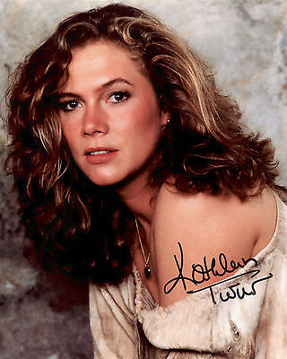 Kathleen Turner - Joan Wilder - Romancing the Stone - Signed Autograph REPRINT