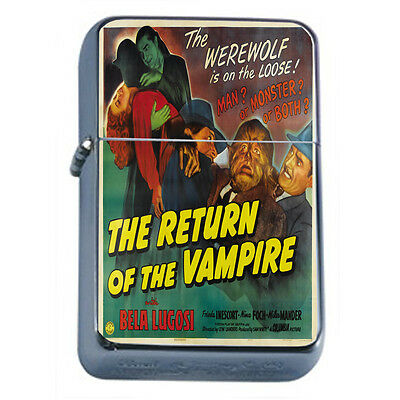 Vintage Poster D97 Windproof Dual Torch The Return Of The Vampire Movie Poster
