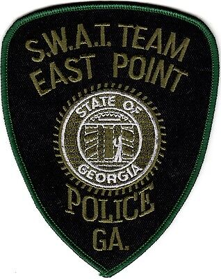 East Point Police SWAT Team Police Patch Georgia GA NEW!!
