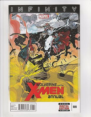 Wolverine and the X-Men (2014) Annual #1 NM- 9.2 Marvel Comics Infinity