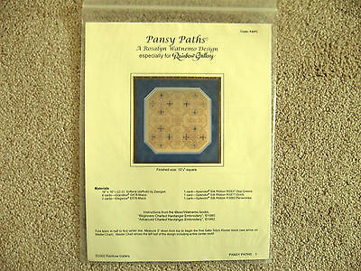 Pansy Paths Chart Rosalyn Watnemo Designs Rainbow Gallery