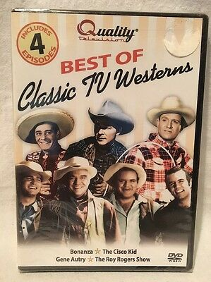The Best of Classic TV Westerns, New Sealed Bonanza Cisco Kid G.Autry Roy Rogers